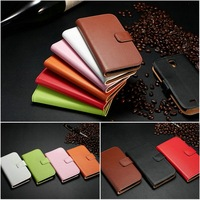 Brand new cheap price high quality genuine leather clear mobile phone bag pouch case for samsung galaxy s5 smartphone