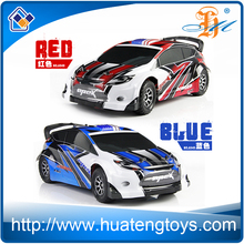 2.4G 4wd rc rally drift car toy 1:18 full proportional 50km/h top speed battery powered high speed remote control drift car