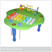 Beads,xylophone Table,Wooden Musical Toys for Children,PY1271
