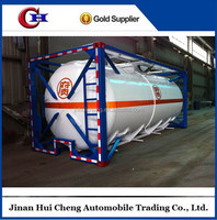 ISO 20ft 20m3 fuel tank container for sale