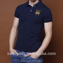 Custom 100 cotton embroidered your logo uniform polo shirt
