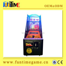 2015 hot sale Funtime basketball shooting machines basketball game machine arcade basketball games