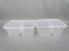 Top quality various widely used plastic PP food container with sealed lid