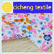 top sell 100% Cotton with print poplin great quality make in china shaoxing