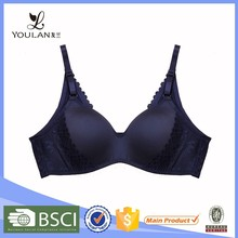 Manufacturer Breathable Sweet Girl Spandex/Polyester Milk Fabric Bra Ladies Underwear Sexy Lingerie