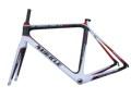 Milagro de carbono total cyclocross cuadro de la bicicleta de freno de disco con frame+fork