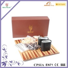 2 In 1 Wooden Chess & Backgammon Board Game