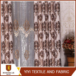 Textile supplier Ready made Beautiful cheap curtain import