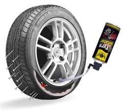 tyre puncture sealant kit