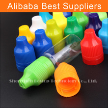 Best Cheap 50ml 10ml 15ml plastic dropper bottles eliquid with double twist cap for e-cigarettes juice
