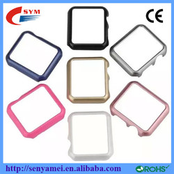 Ultra thin PC waterproof protective for apple watch case 2015