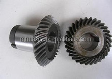 Conical gear shaft