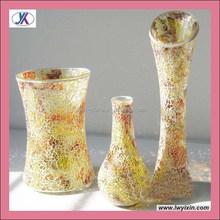 Home ornament art craft crackle decor mosaic vase