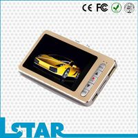 MINI PORTABLE portable vehicle camera dvr with 2.4inch lcd screen