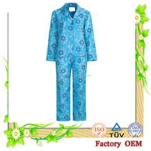 100%Cotton Long Sleeve Pajamas Set Promotion mature sexy nightgown