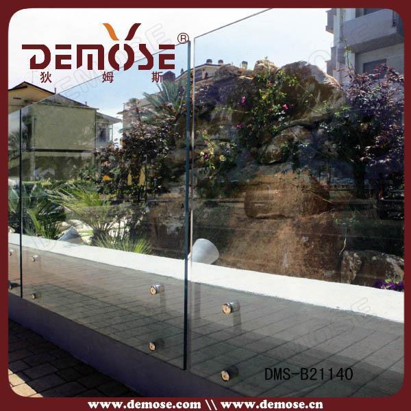 Glas balkon geländer design für outdoor/innen brüstung und ...
