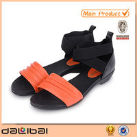 new model mature sexy women fashion latest ladies fancy leather new nice unique designs flat sandals 2014