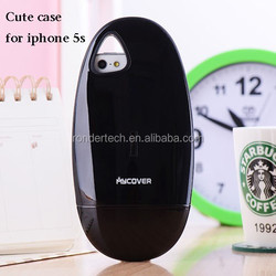 New style creative mouse style phone case for iphone 5s stand holder cover case for iphone5s