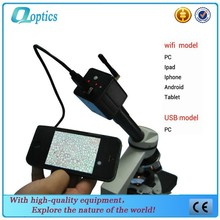 Wireless Wifi and USB digital microscope camera for PC iPad IPhone Android Tablet
