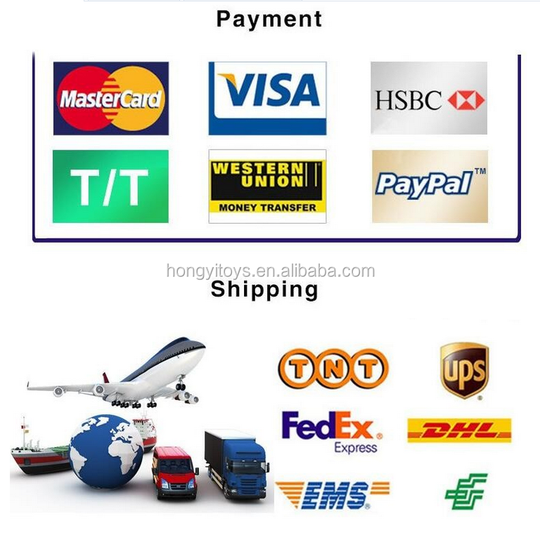 SHIPPING AND PAYMENT MERTHOD