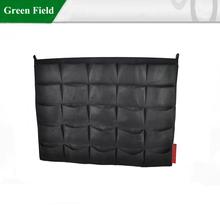 Appeso fioriera muro verde, tessuto fioriera muro verde