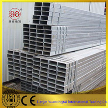thick zinc coated galvanized schedule 40 square steel tube