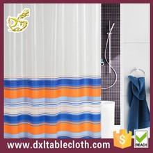 PEVA printed curtains in roll beige custom blind
