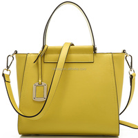 Yellow leather bags handbags for women online wholesale China