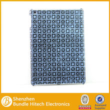 For ipad air plastic back cover tablet cases