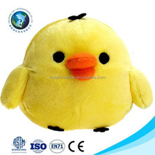 Wholesale promotional mini chicken plush toy yellow chick soft toy cute small size stuffed plush chicken keychain