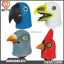 Face mask machine latex mask of bird animal mask