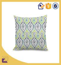 Fashionable Square Plain Natural Cotton Linen Cushion Cover18*18Inch
