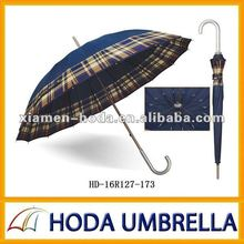 """Con estilo 25"""" x16k grid recta paraguas con el marco de fuertes"""