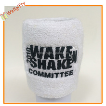 Various kinds solid color adult cotton towelling wristband