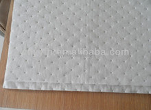 nonwoven oil absorbing mats for spill solutions