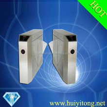 304 stainless steel security subway automatic flap barriers system AC220V