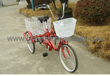 GW 7005 20inch single speed cargo tricycle for adult
