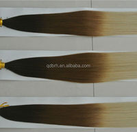 Hot Fashion Ombre Remy Keratin I-tip Hair Extensions on Sale