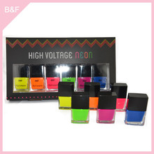 Private label makeup Nail Polish fashion decorated artificial nails