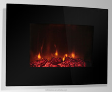 electric fireplace of wall mounted style