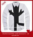 fabrica camisa de algodón de vestir para hombres
