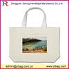 Custom printing canvas tote bag/canvas beach handbag for sale