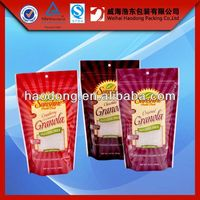 China manufacturer custom printed small resealable plastic bags