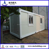 combined standard prefabricated container house for hot sale
