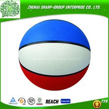"high quality Customized color modern rubber basketball 7"" hot sale"