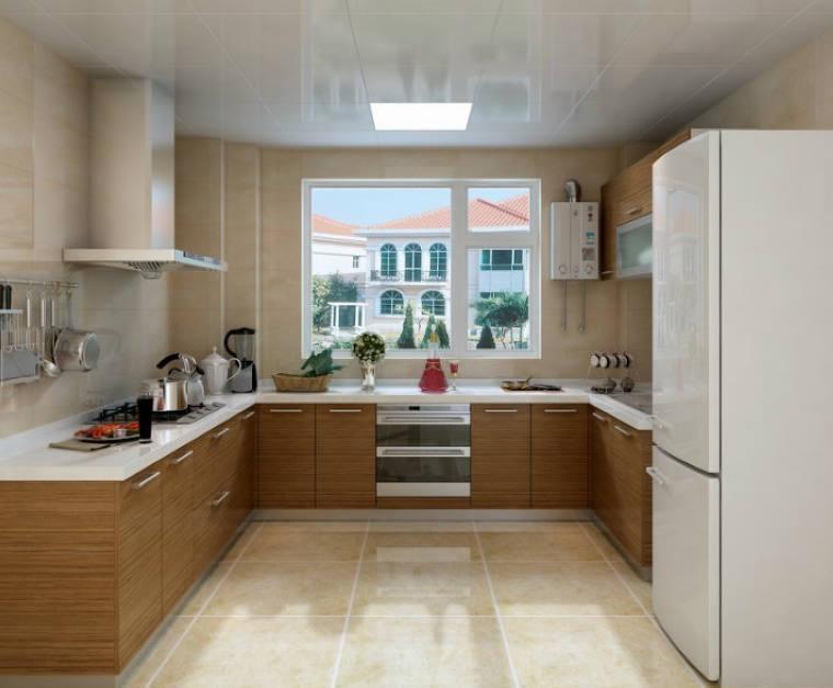 Moderne keukens u vorm u vormige keukens complete keuken incl apparatuur - Keuken kleine ruimte ...