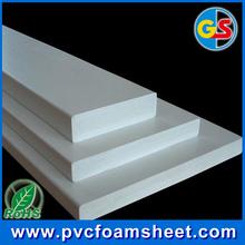 6mm celuka white waterproof rigid foam board pvc flexible sheet