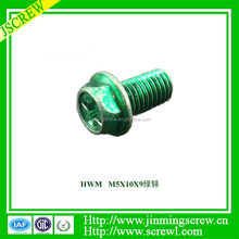 special OEM Hardware Electronic components screw Hex Head Alumina Screws