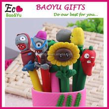 Hot Selling Cartoon Polymer Clay Pen Wholesale Can Custom Logo Promotional Ballpoint Pen Cheap Polymer Clay Pen