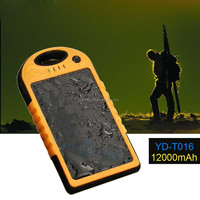 12000mah portable solar battery charger power bank for samsung galaxy s3